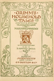 Cover of early edition of Grimm Household Tales
