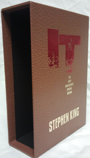 slipcase for it the 25th anniversary gift edition cemetery dance